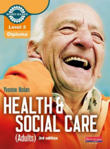 Omslag - Level 3 Health and Social Care (Adults) Diploma: Candidate Book 3rd edition