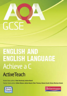 AQA GCSE English and English Language Active Teach BBC Pack: Achieve a C av Esther Menon og Peter Buckroyd (Blandet mediaprodukt)