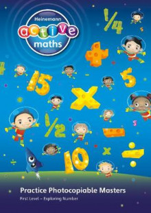 Heinemann Active Maths - First Level - Exploring Number - Practice Photocopiable Masters: Book 1 av Lynda Keith, Lynne McClure, Peter Gorrie og Amy Sinclair (Spiral)