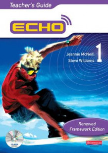 Echo 1: Teacher's Guide av Jeannie McNeill og Steve Williams (Blandet mediaprodukt)