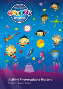 Heinemann Active Maths - First Level - Beyond Number - Activity Photocopiable Masters av Lynda Keith, Amy Sinclair og Fran Mosley (Spiral)