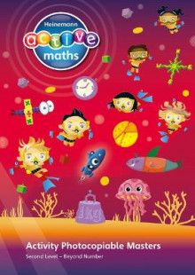 Heinemann Active Maths - Second Level - Beyond Number - Activity Photocopiable Masters av Lynda Keith, Amy Sinclair og Fran Mosley (Spiral)