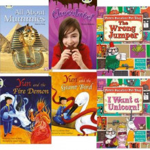 Learn to Read at Home with Bug Club: Purple Pack (Pack of 6 Reading Books with 4 Fiction and 2 Non-Fiction) av Sheila May Bird, Diana Noonan, Charlotte Raby og Dianne Irving (Heftet)