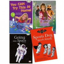 Learn to Read at Home with Bug Club Gold Pack (2 fiction and 2 non-fiction) av Sheryl Webster, Diana Noonan, Carmel Reilly og Michaela Morgan (Blandet mediaprodukt)