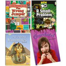 Learn to Read at Home with Bug Club Purple Pack (2 fiction and 2 non-fiction) av Sheila May Bird, Diana Noonan og Cas Lester (Blandet mediaprodukt)