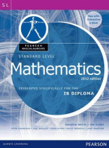 Omslag - Pearson Baccalaureate Standard Level Mathematics Revised 2012 print and ebook bundle for the IB Diploma