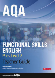 AQA Functional English Teacher Guide: Pass Level 2 av David Stone (Blandet mediaprodukt)