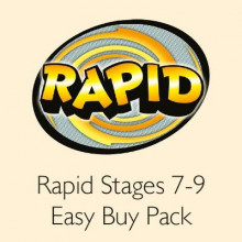 Rapid Stages 7-9 Easy Buy Pack av Alison Hawes, Celia Warren, Benjamin Hulme-Cross, Lou Kuenzler og Jillian Powell (Blandet mediaprodukt)