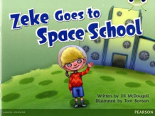 Bug Club Blue A (KS1) Zeke Goes to Space School av Jill McDougall (Heftet)