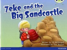 Bug Club Blue B (KS1) Zeke and the Big Sandcastle av Jill McDougall (Blandet mediaprodukt)