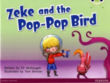 Bug Club Blue C (KS1) Zeke and the Pop-Pop Bird av Jill McDougall (Blandet mediaprodukt)