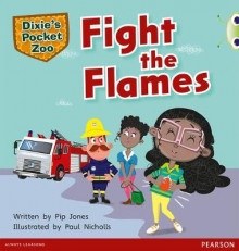 Bug Club Green B Dixie's Pocket Zoo: Fight the Flames av Pip Jones (Blandet mediaprodukt)
