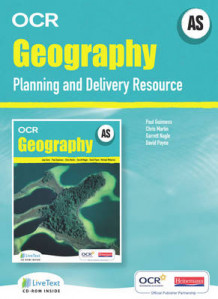 AS Geography for OCR LiveText for Teachers with Planning and Delivery Resource av Paul Guinness, Chris Martin, David Payne og Garrett Nagle (Blandet mediaprodukt)