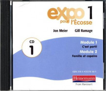 Expo pour l'Ecosse 1 Audio CDs (pack of 3) (Lydbok-CD)