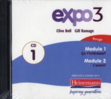 Expo 3 Rouge Audio CDs (Pack of Three) (Lydbok-CD)