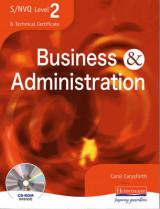 Omslag - S/NVQ Level 2 Business and Administration Student Book