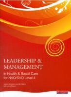 Leadership and Management in Health and Social Care: NVQ Level 4 av Andrew Thomas (Heftet)