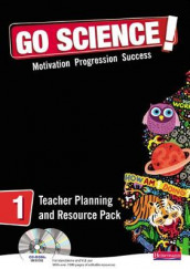 Go Science! Teacher Planning Pack & CDROM 1 av Adelene Cogill, Peter Gale, Richard Needham og Ann Tiernan (Blandet mediaprodukt)