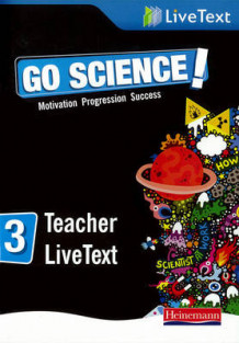 Go Science! Teacher LiveText 3 (Blandet mediaprodukt)