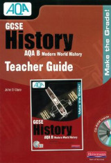 Omslag - GCSE AQA B: Modern World History Teacher Guide