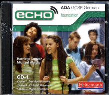 Echo AQA GCSE German Foundation Audio CD Pack (Lydbok-CD)