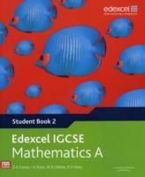 Edexcel International GCSE Mathematics A Student Book 2 with ActiveBook CD av D. A. Turner, I. A. Potts, W. R. J. Waite og B.V. Hony (Blandet mediaprodukt)