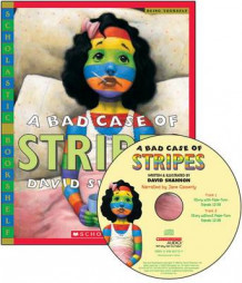 A Bad Case of Stripes - Library Edition av David Shannon (Blandet mediaprodukt)