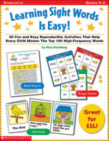 Learning Sight Words is Easy av Mary Rosenberg (Heftet)