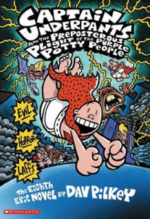 Captain Underpants and the Preposterous Plight of the Purple Potty People av Dav Pilkey (Heftet)