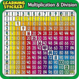 Omslag - Multiplication & Division Learning Stickers!