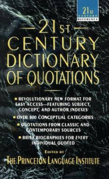 21st Century Dictionary of Quotations (Heftet)