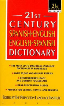 21st Century Spanish-English, English-Spanish Dictionary av Princeton Language (Heftet)
