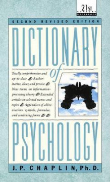 Dictionary of Psychology av J. P. Chaplin (Heftet)