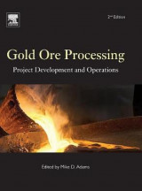 Omslag - Gold Ore Processing: Volume 15