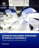Omslag - Advanced Machining Processes of Metallic Materials