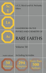 Omslag - Handbook on the Physics and Chemistry of Rare Earths: Volume 50
