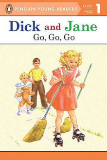 Dick and Jane Go, Go, Go (Penguin Young Reader Level 1) av Penguin Young Readers (Heftet)