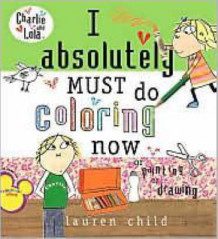 I Absolutely Must Do Coloring Now av Lauren Child (Heftet)