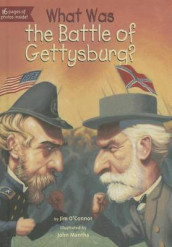 What Was the Battle of Gettysburg? av Jim O'Connor (Innbundet)