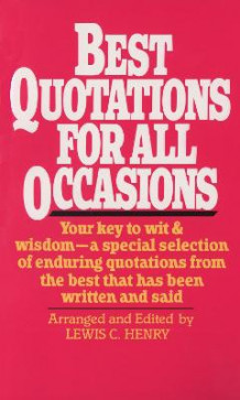 Best Quotations For All Occasions (Heftet)