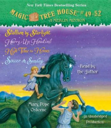 Magic Tree House Collection: Books 49-52 av Mary Pope Osborne (Lydbok-CD)