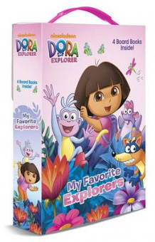 Dora the Explorer: My Favorite Explorers av Mary Tillworth (Pappbok)