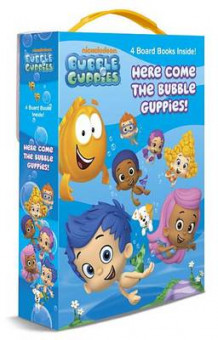 Here Come the Bubble Guppies! (Bubble Guppies) av Mary Tillworth (Pappbok)