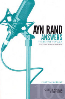 Answers av Rand Ayn (Lysark)