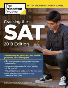 Cracking the SAT with 5 Practice Tests av Princeton Review (Heftet)
