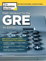 Omslag - Math Workout for the GRE