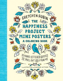 The Happiness Project Mini Posters: A Coloring Book av Gretchen Rubin (Heftet)