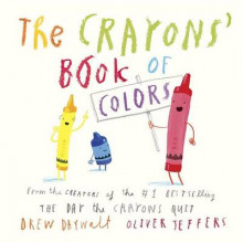 The Crayons' Book of Colors av Drew Daywalt og Oliver Jeffers (Pappbok)