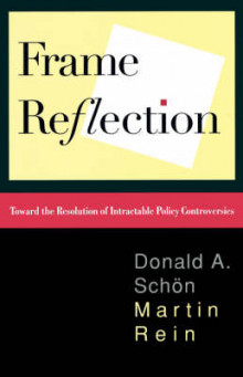 Frame Reflection av Donald A. Schon (Heftet)