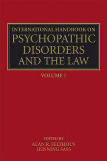 International Handbook on Psychopathic Disorders and the Law (Innbundet)